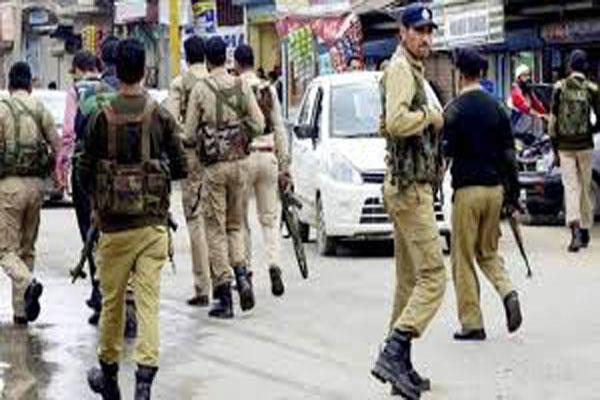dont harass militants families said police cop