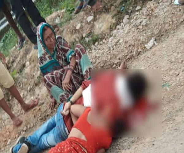gunmen shot dead in pratapgarh couple killed in ground dispute