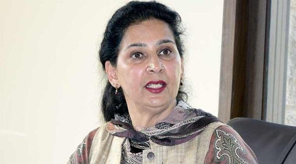wife navjot kaur came in the rescue of sidhu