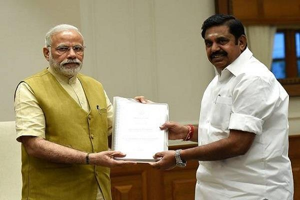palaniwasamy write letter to pm modi