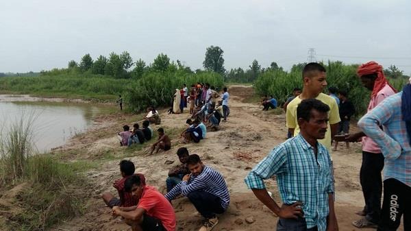 two children drowning in satluj darya die of drowning