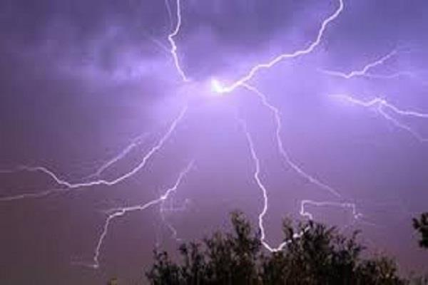1 killed 7 injured as lightning struck