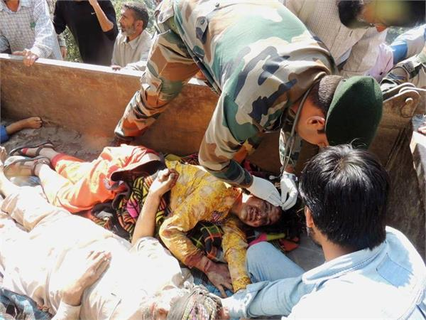 army rescued injured in kishtwar accident