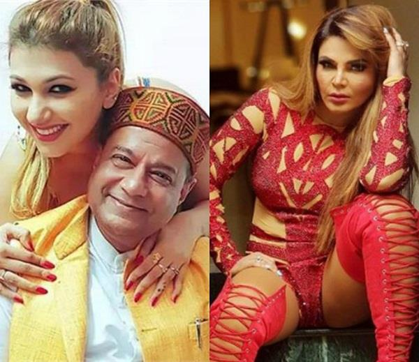 rakhi sawant on anup jalota and jasleen matharu relation