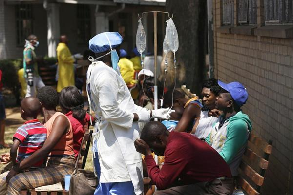 cholera outbreak emergency declared in zimbabwe as 20 confirmed dead