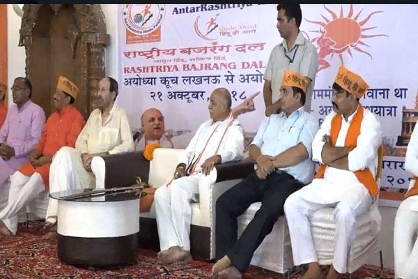 togadia attacks modi government