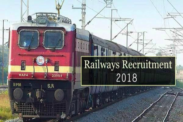 rrb recruitment 2018 group d  examination center candidate