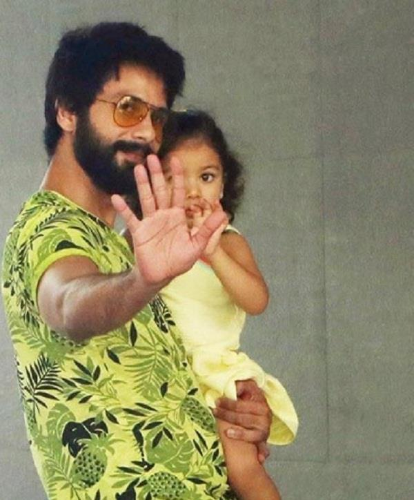 shahid kapoor daughter misha falls sick