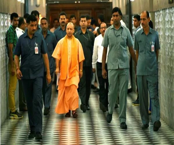 cm yogi canceled jhansi tour administration gave respite of relief