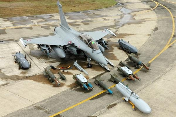 air force engaged in preparation of rafale planes