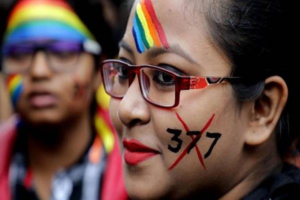 number of homosexuality relations cases in uttar pradesh kerala