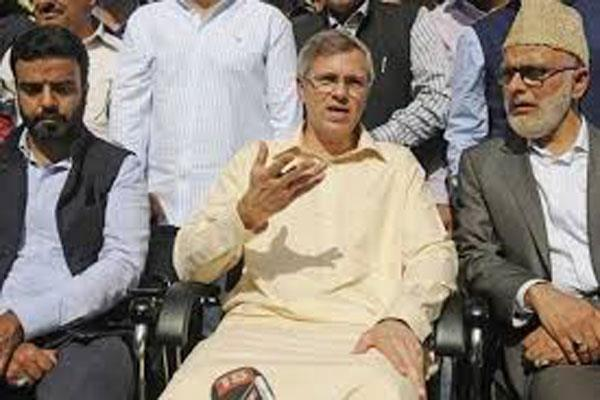 omar said on panchayat elections we did not ask anyone to boycott