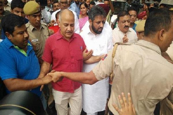 tihar performance case relief to mla and manish sisodia