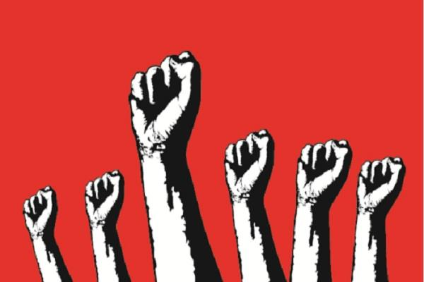 asha workers protest against demands government