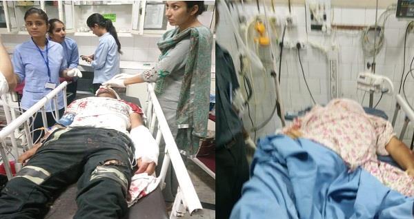 minni bus hits bike rider injured mother s death