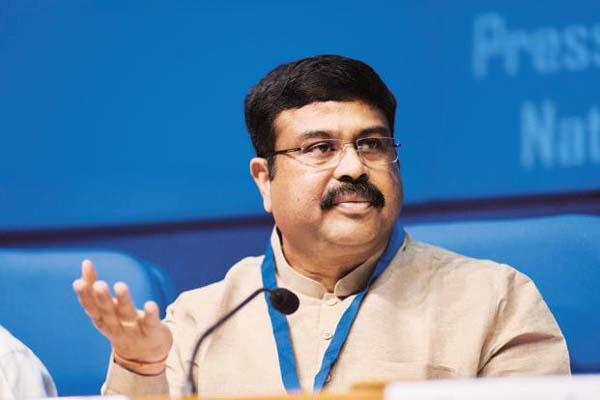 dharmendra pradhan says govt done better in all sectors mind rocks