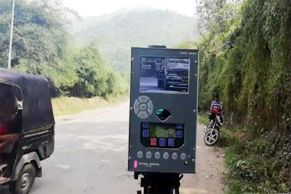 if speed increases on chandigarh manali nh then police s doctor yard action