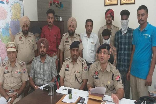 khanna police arrested 2 stolen five motorcycles