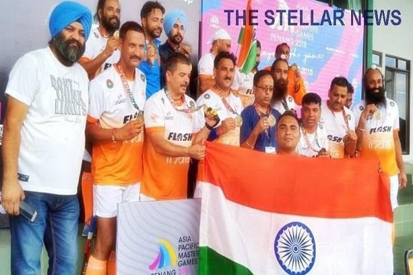 india won gold asian pacific masters final hockey