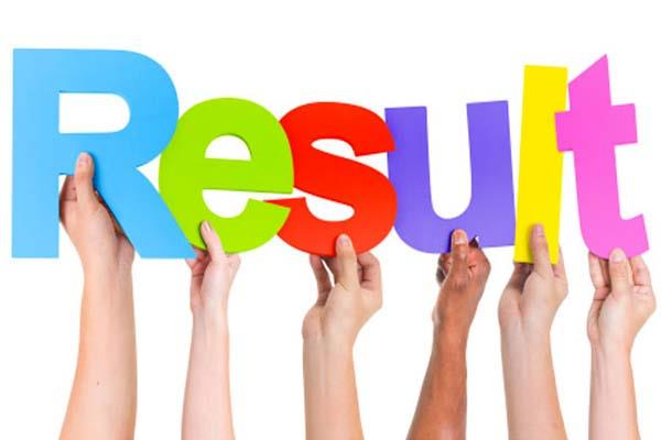 result out of drawing master junior auditor and craftman