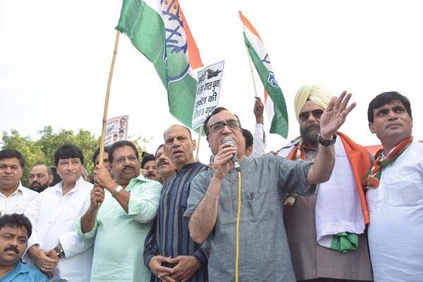 delhi congress on  raphael aircraft parade