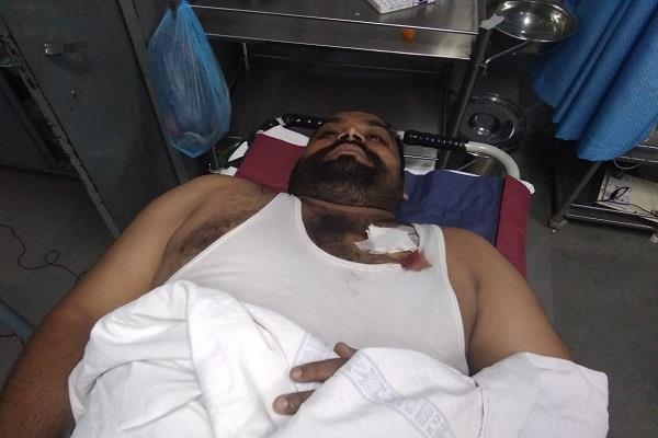 blast in maksududa police station one employee seriously injured