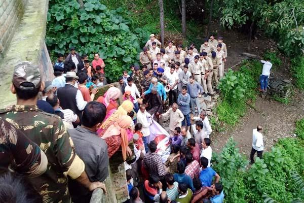 funeral of dalit leader in tight police security