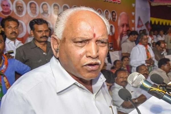 yeddyurappa returns to bengaluru from delhi all of a sudden