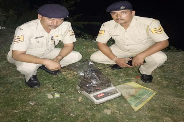 chamba police charas recovered