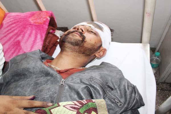 chamba road accident injured 3