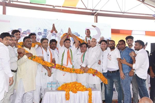 tanwar said bjp is steeped in enormous corruption from center to haryana