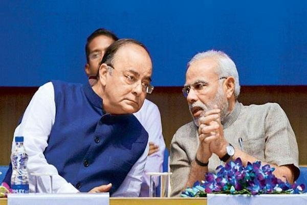 jaitley on economy government stubbornly targets fiscal deficit target