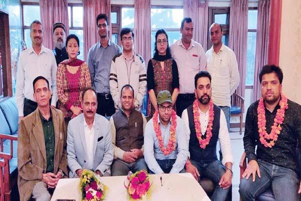 dr abhishek bhardwaj became president of hamoa
