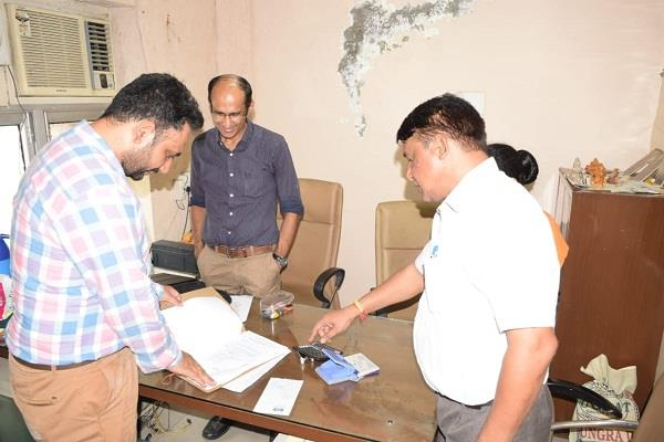 excise department red in shaurya green towers