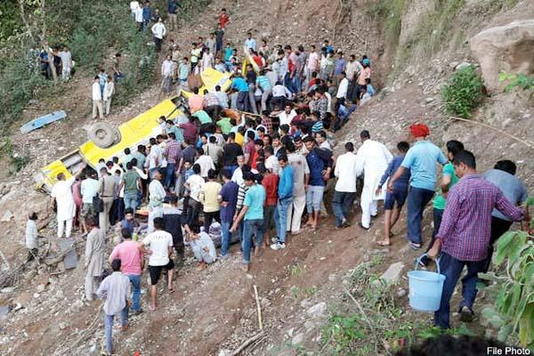 nurpur bus accident administration denied charges of families aggrieved