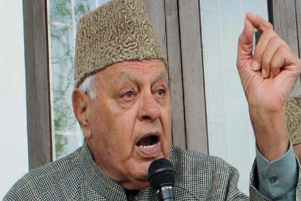 new delhi has made many mistakes on kashmir farooq abdullah
