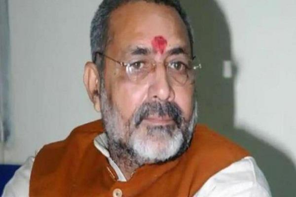 the next election in bihar will be fought under nitish s leadership giriraj