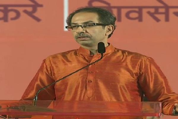 shiv sena advocates building ram temple defends alliance with bjp