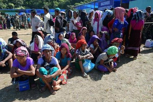 bru refugees relief camps to be closed home ministry
