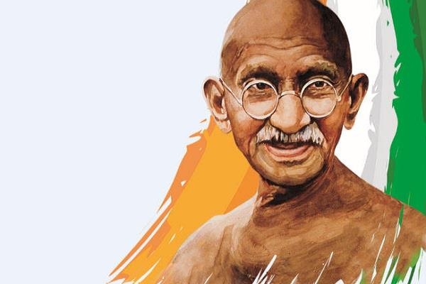 true tribute  to gandhiji following his thoughts and principles