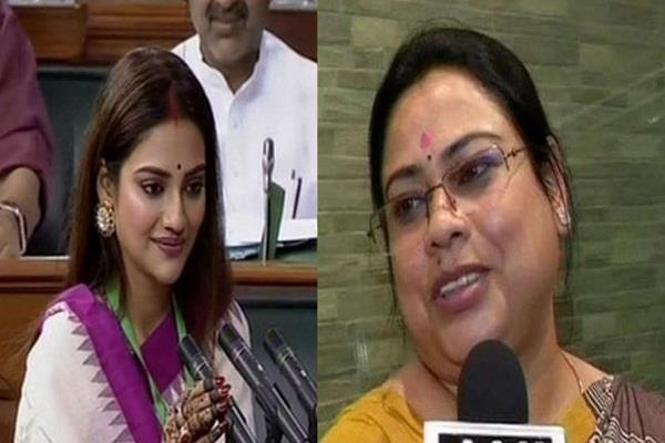 union minister came out in support of mp nusrat jahan