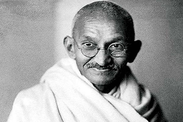 palestine issued a stamp in honor of gandhi