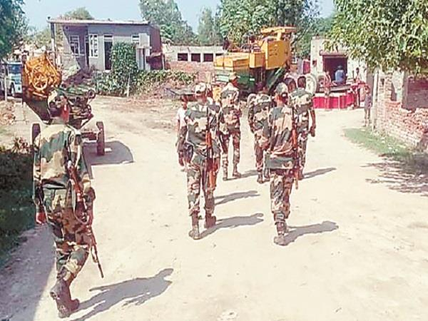 bsf and police are investigating hussainiwala border area