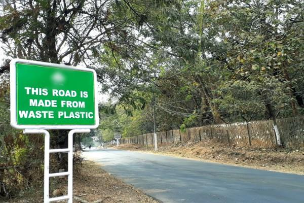 government will use plastic waste extensively in road construction