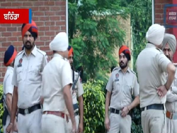 ak 47 and revolver seized from punjab police haryana police recovered