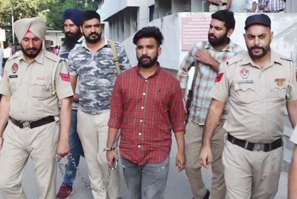 terrorist sajanpreet s police remand extended to 11