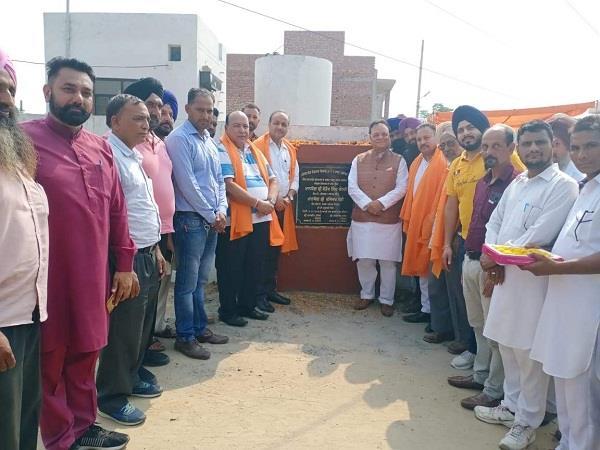 mp santokh chaudhary foundation of dhanowali dakoha road