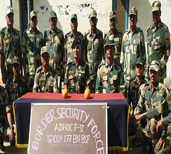 bsf has recovered 10 crore heroin