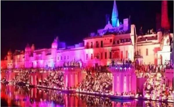 rams city shines on ayodhya deepotsav creates world record