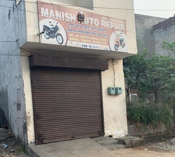 street breakers challaned in new kailash nagar